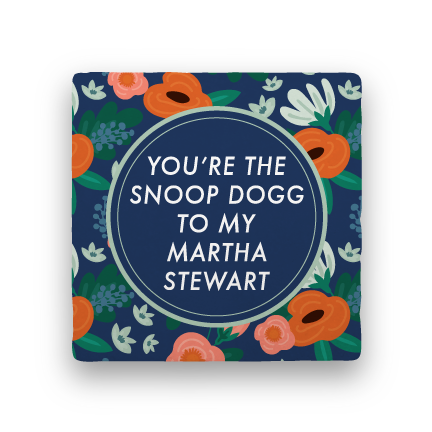 Snoop & Martha-Garden Party-Paisley & Parsley-Coaster