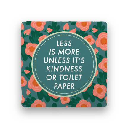Less Is More-Garden Party-Paisley & Parsley-Coaster