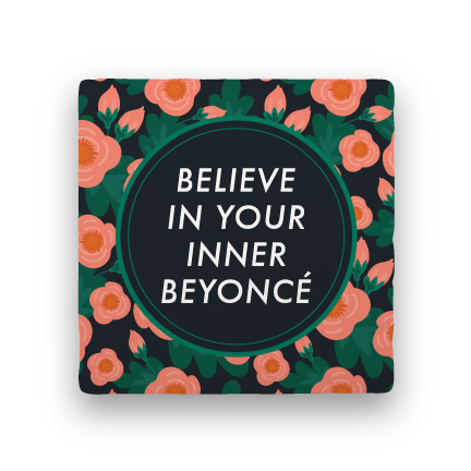 Inner Beyoncí©-Garden Party-Paisley & Parsley-Coaster