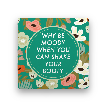 Shake Your Booty-Garden Party-Paisley & Parsley-Coaster