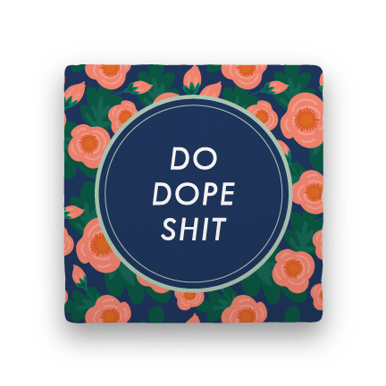 Dope-Garden Party-Paisley & Parsley-Coaster
