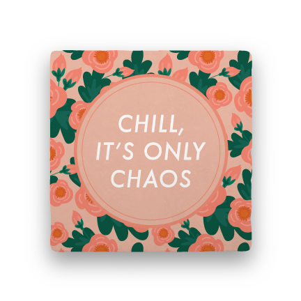 Chill-Garden Party-Paisley & Parsley-Coaster