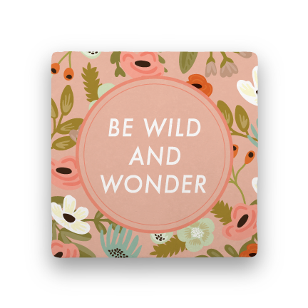 Be Wild and Wonder-Garden Party-Paisley & Parsley-Coaster