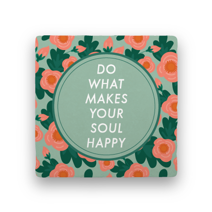 Soul-Garden Party-Paisley & Parsley-Coaster
