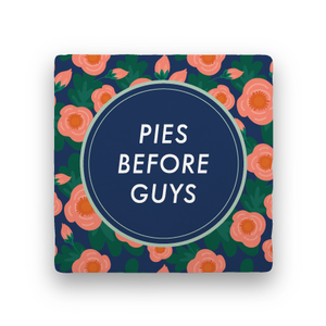 Pies Before Guys-Garden Party-Paisley & Parsley-Coaster