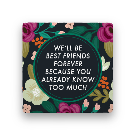 Friends Forever-Garden Party-Paisley & Parsley-Coaster