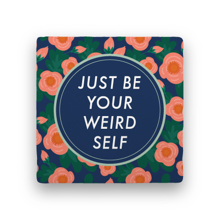 Your Weird Self-Garden Party-Paisley & Parsley-Coaster