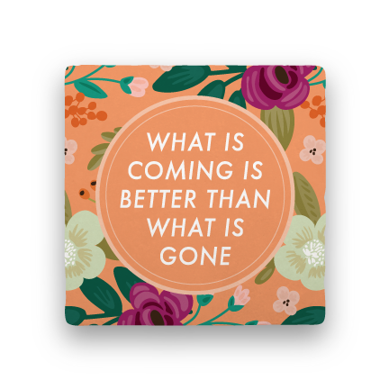 What Is Coming-Garden Party-Paisley & Parsley-Coaster