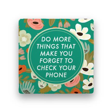 Your Phone-Garden Party-Paisley & Parsley-Coaster