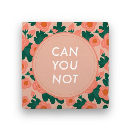 Can You Not-Garden Party-Paisley & Parsley-Coaster