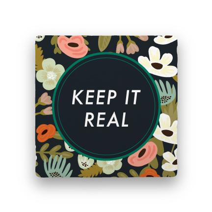 Keep It Real-Garden Party-Paisley & Parsley-Coaster