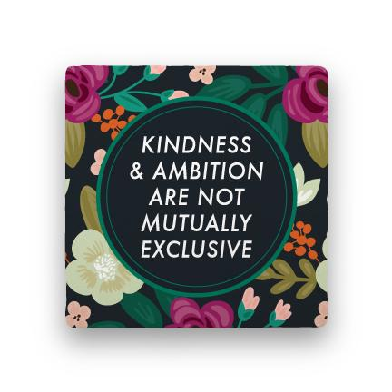 Kindness & Ambition-Garden Party-Paisley & Parsley-Coaster