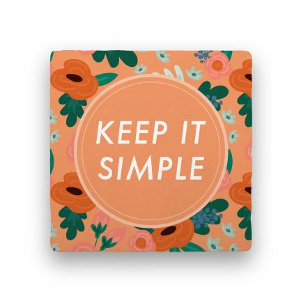 Keep It Simple-Garden Party-Paisley & Parsley-Coaster