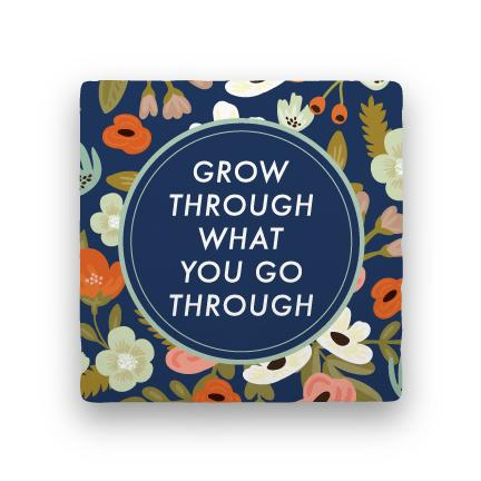 Grow Through-Garden Party-Paisley & Parsley-Coaster