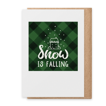Snow Is Falling - Green