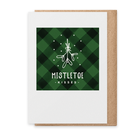 Mistletoe Kisses - Green