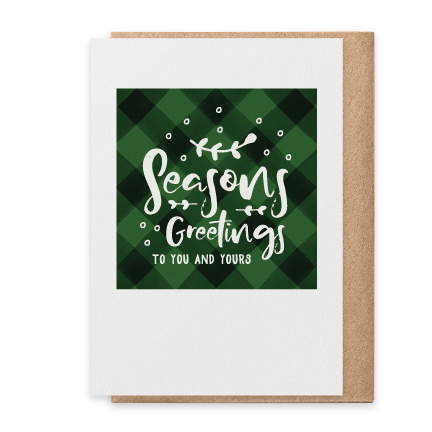 Seasons Greetings - Green