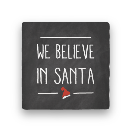 We Believe-Holiday-Paisley & Parsley-Coaster