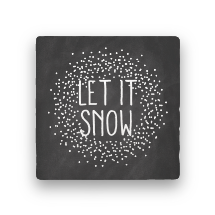 Let It Snow-Holiday-Paisley & Parsley-Coaster