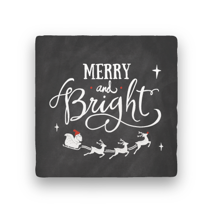 Merry and Bright-Holiday-Paisley & Parsley-Coaster