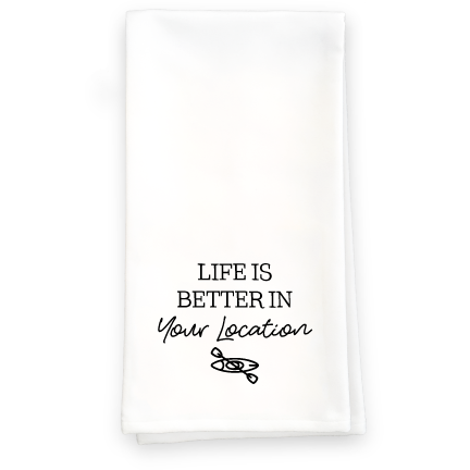 Life Is Better - Kayak