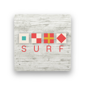 Surf-Let's Be Nautical-Paisley & Parsley-Coaster