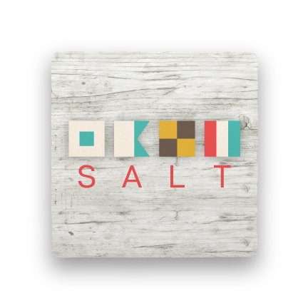 Salt-Let's Be Nautical-Paisley & Parsley-Coaster