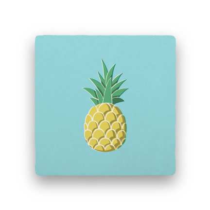 Pineapple-Summer Vacation-Paisley & Parsley-Coaster