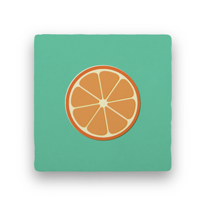 Citrus-Summer Vacation-Paisley & Parsley-Coaster
