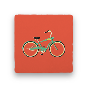 Beach Cruiser-Summer Vacation-Paisley & Parsley-Coaster