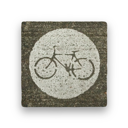 Bike Lane-PNW-Paisley & Parsley-Coaster