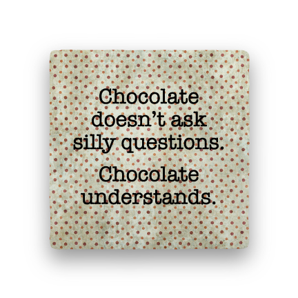 Chocolate-Polka Spots-Paisley & Parsley-Coaster