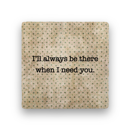 Need You-Polka Spots-Paisley & Parsley-Coaster