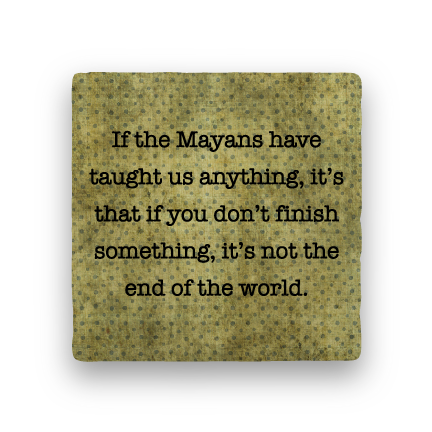 Mayans-Polka Spots-Paisley & Parsley-Coaster