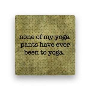 Yoga-Polka Spots-Paisley & Parsley-Coaster