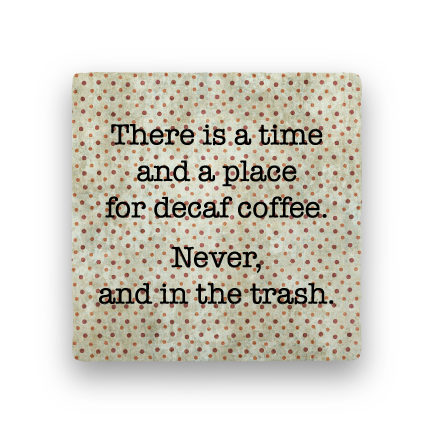 Decaf-Polka Spots-Paisley & Parsley-Coaster
