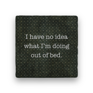 Out of Bed-Polka Spots-Paisley & Parsley-Coaster