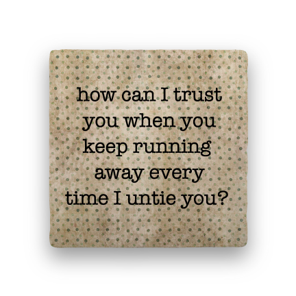 Trust-Polka Spots-Paisley & Parsley-Coaster