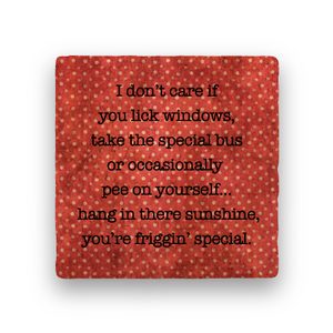 You're Friggin' Special-Polka Spots-Paisley & Parsley-Coaster