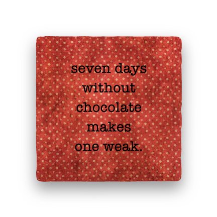 7 Days-Polka Spots-Paisley & Parsley-Coaster