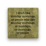 Monday Mornings-Polka Spots-Paisley & Parsley-Coaster