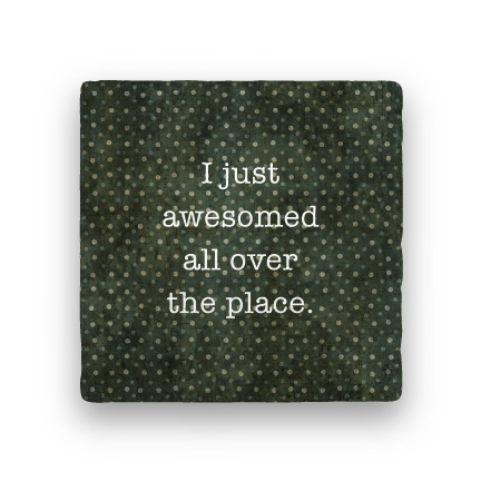 Awesomed-Polka Spots-Paisley & Parsley-Coaster