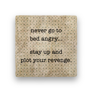 Plot Revenge-Polka Spots-Paisley & Parsley-Coaster