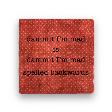 Dammit-Polka Spots-Paisley & Parsley-Coaster