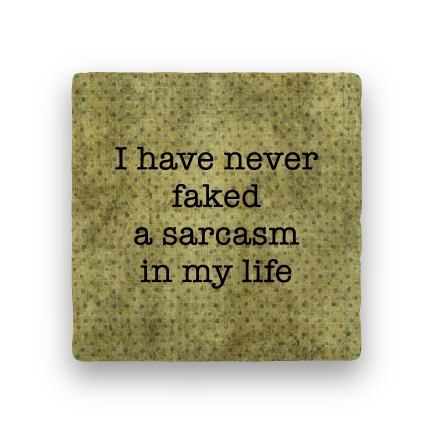 Faked Sarcasm-Polka Spots-Paisley & Parsley-Coaster