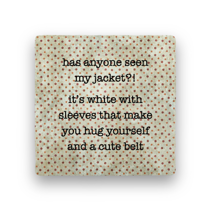 Jacket-Polka Spots-Paisley & Parsley-Coaster