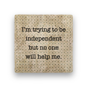 Independent-Polka Spots-Paisley & Parsley-Coaster