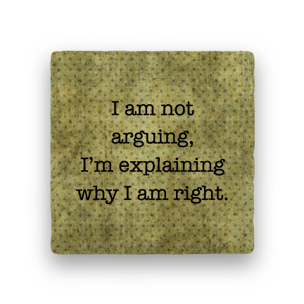 Arguing-Polka Spots-Paisley & Parsley-Coaster
