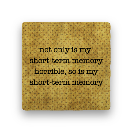 Short-Term Memory-Polka Spots-Paisley & Parsley-Coaster