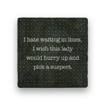 Suspect-Polka Spots-Paisley & Parsley-Coaster